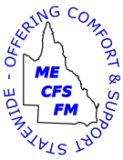 ME/CFS/FM SUPPORT ASSOCIATION QLD INC. Logo